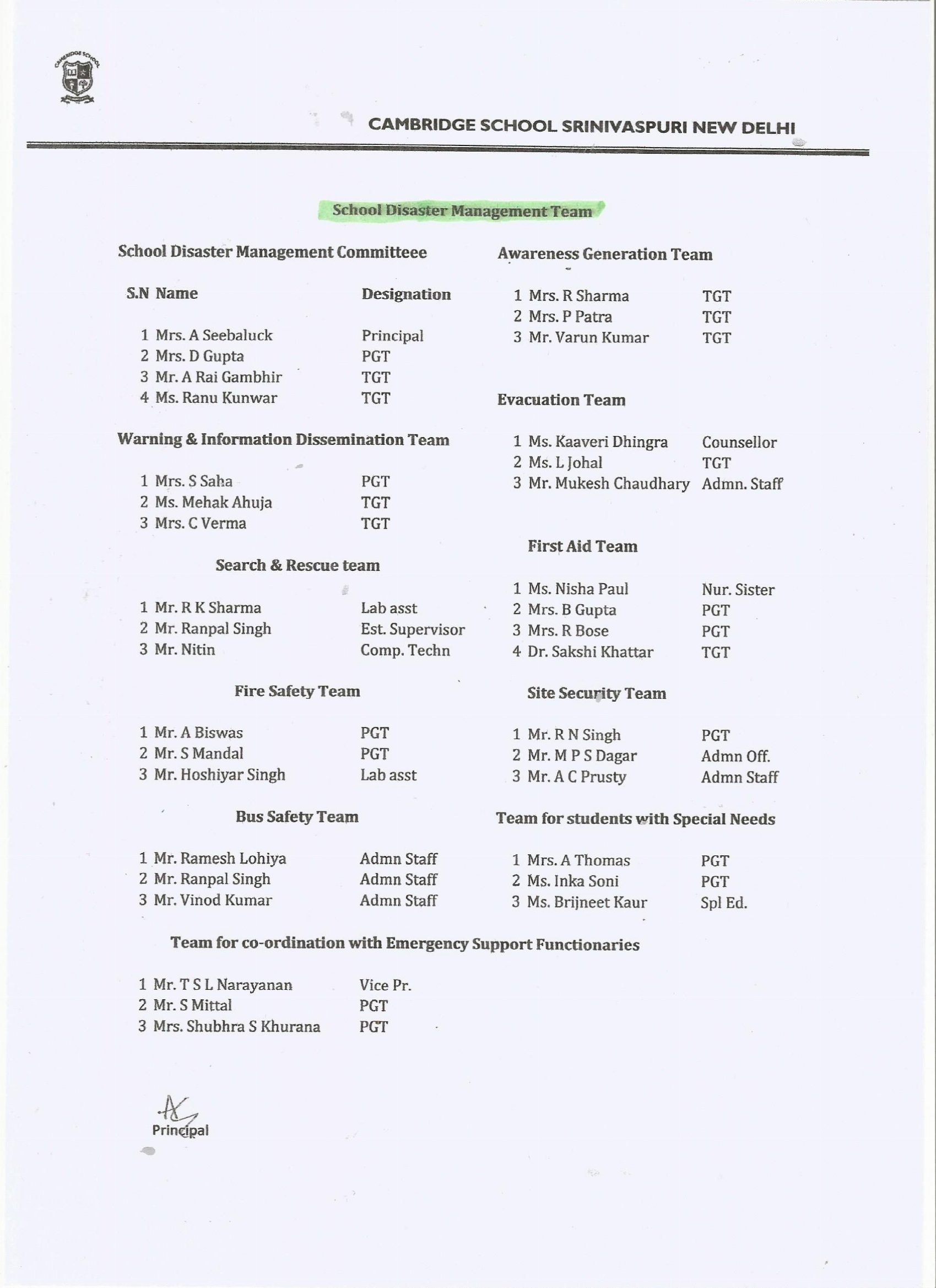 cambridge school sriniwaspuri holiday homework class 7